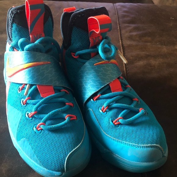 Nike Shoes   Boys Lebron 14 Akron Beach